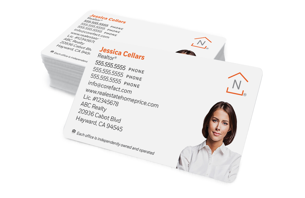 Corefact Standard Business Card 02 - Color Silhouette Photo