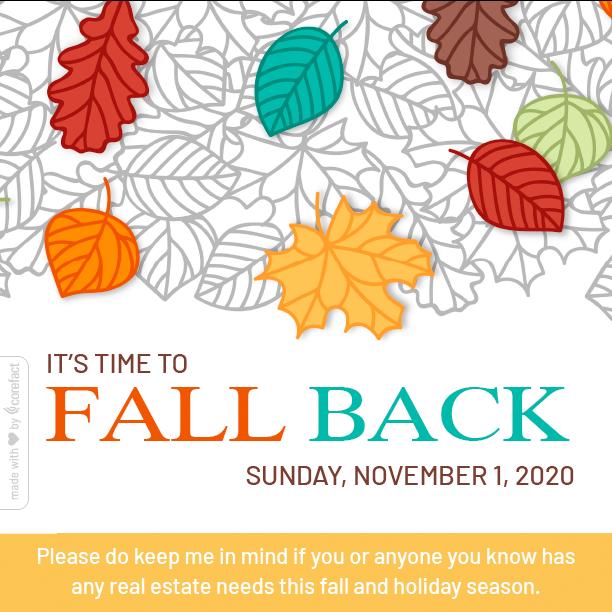 """""""Seasonal-Fall-Back-2020"""""""