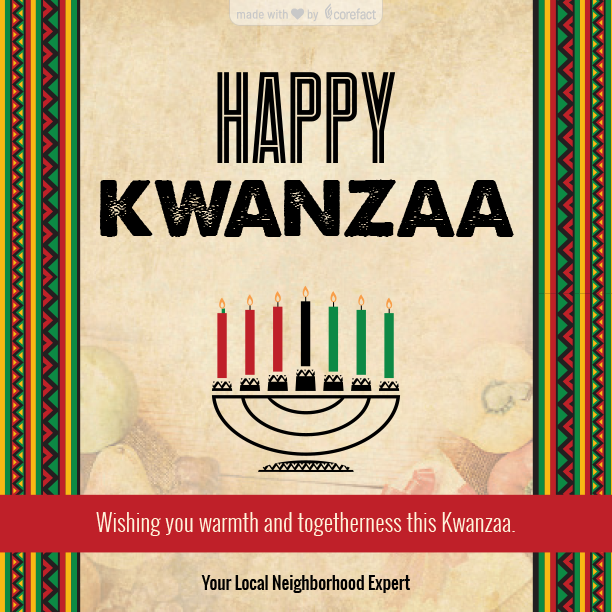"""Seasonal-Happy-Kwanzaa"""