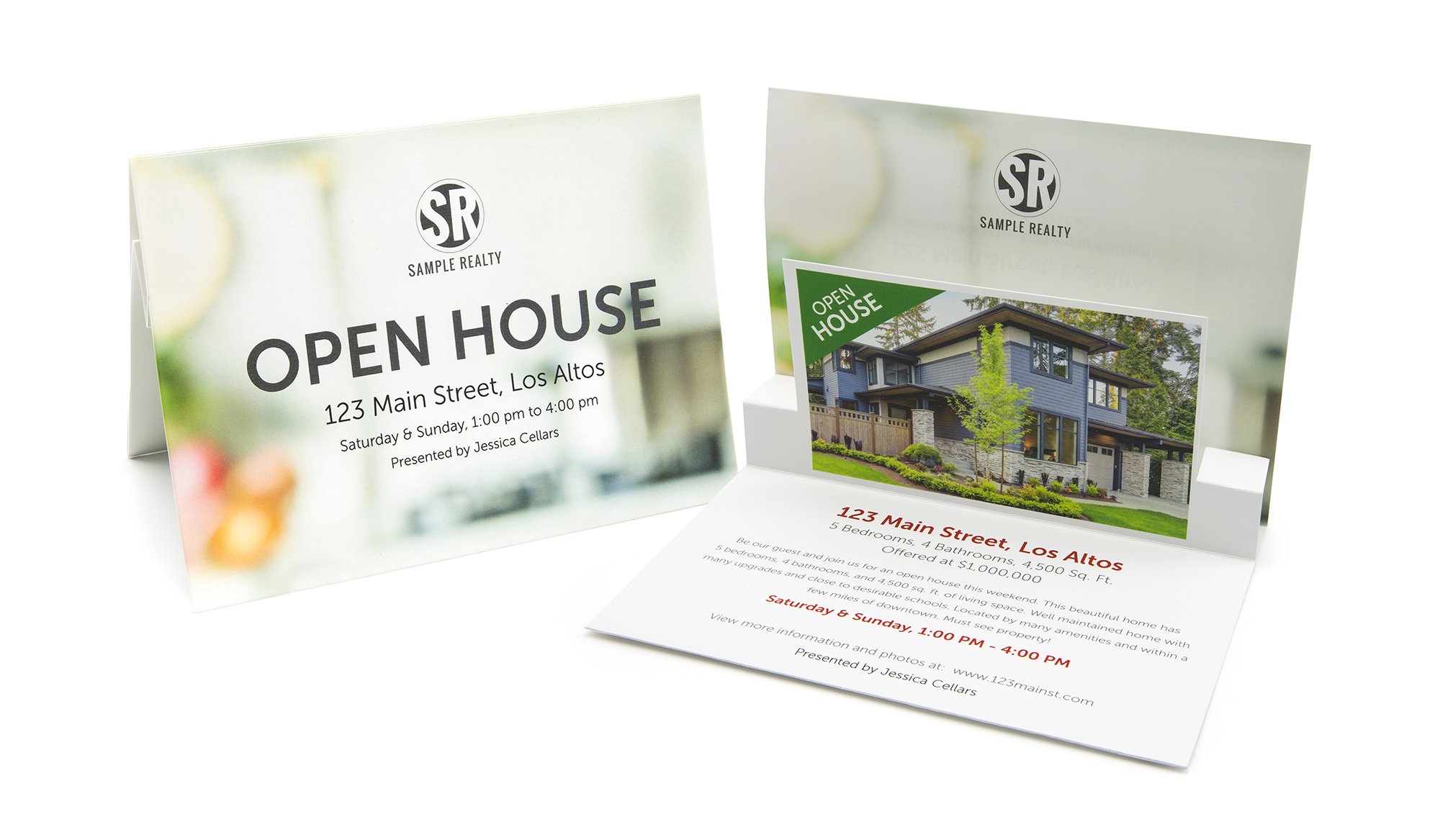 Open House Pop-Up Card Image