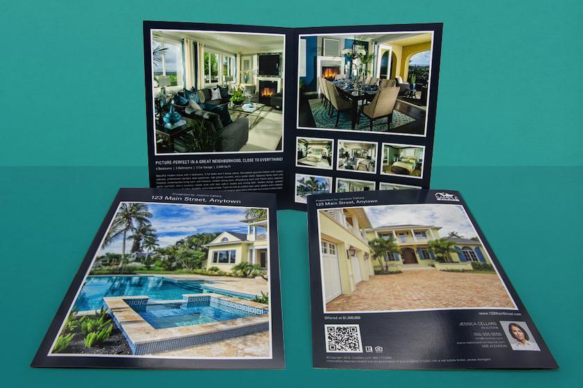 Book Fold Brochure