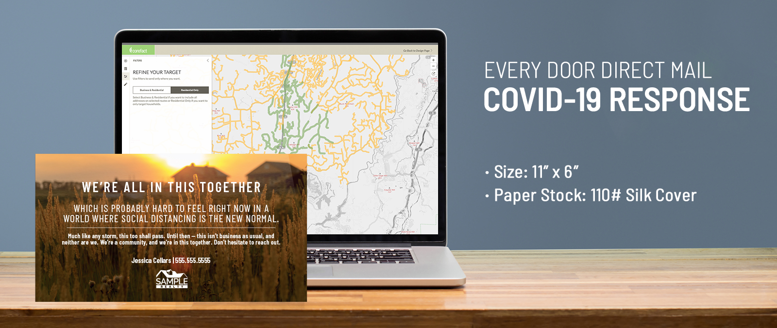 Every Door Direct Mail - COVID-19 Response Postcards