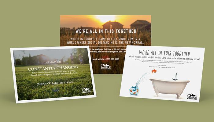 COVID-19 Response Postcards