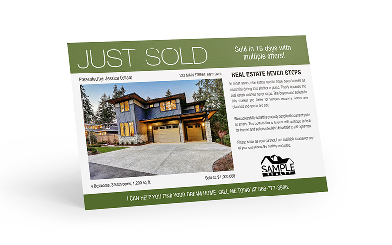 Corefact COVID-19 - Just Sold - Real Estate Never Stops