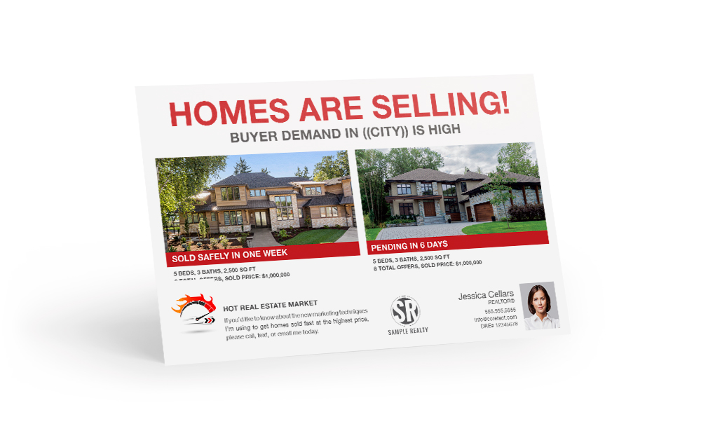 Corefact Hot Market - Just Sold - Homes are Selling!