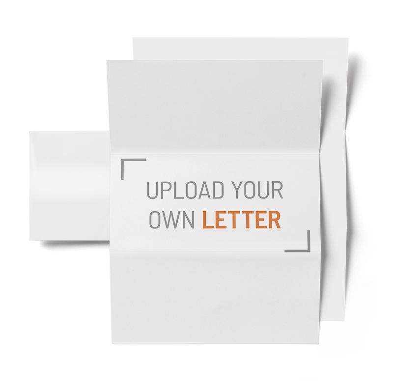 Corefact 8.5 X 11 - Folded Letter + Envelope - Double Sided