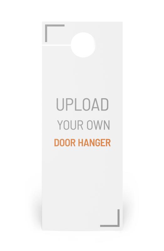 Corefact 11x4.25 Door Hanger - One Sided