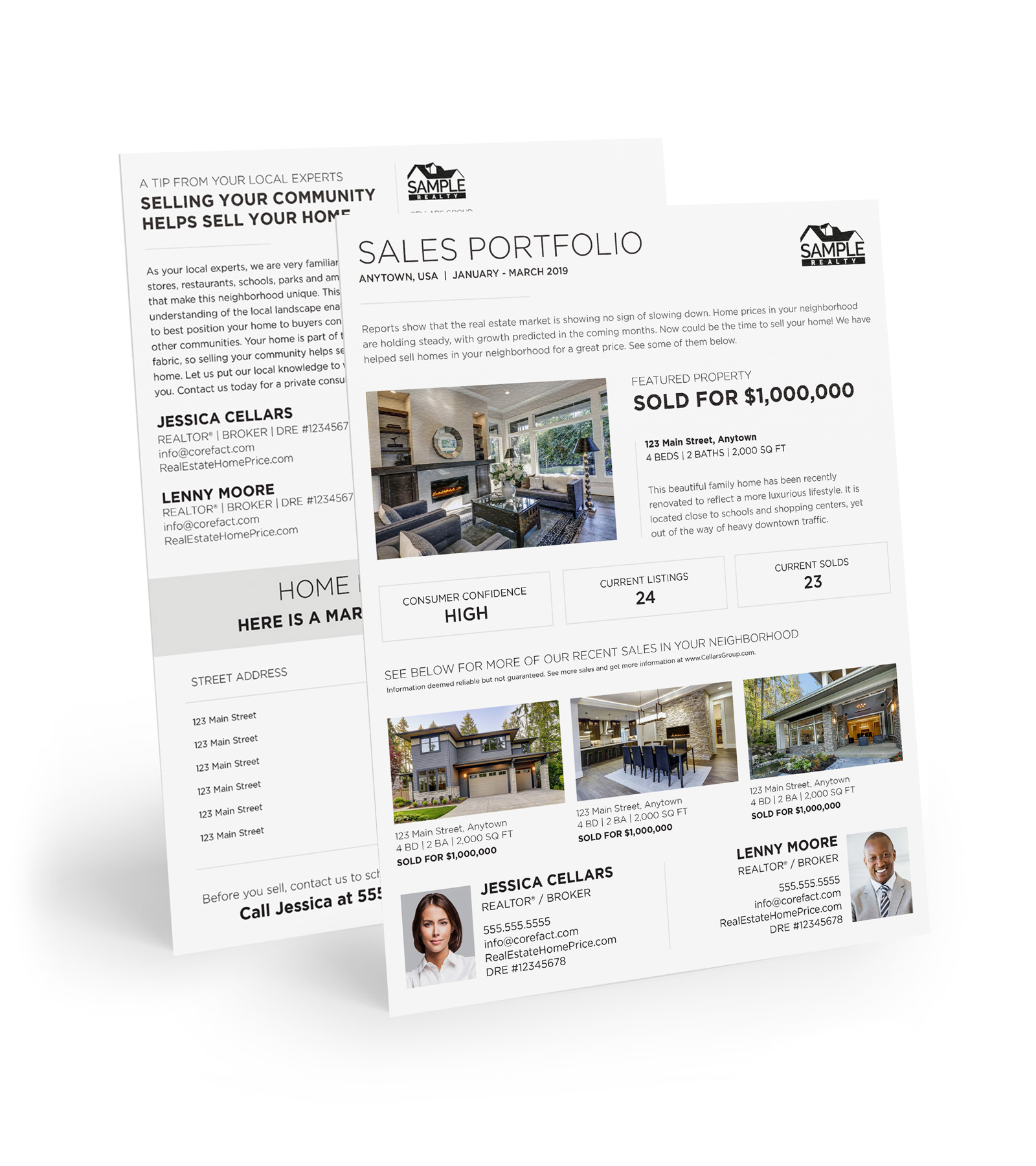 Corefact EDDM - Sales Portfolio 06 (Team)