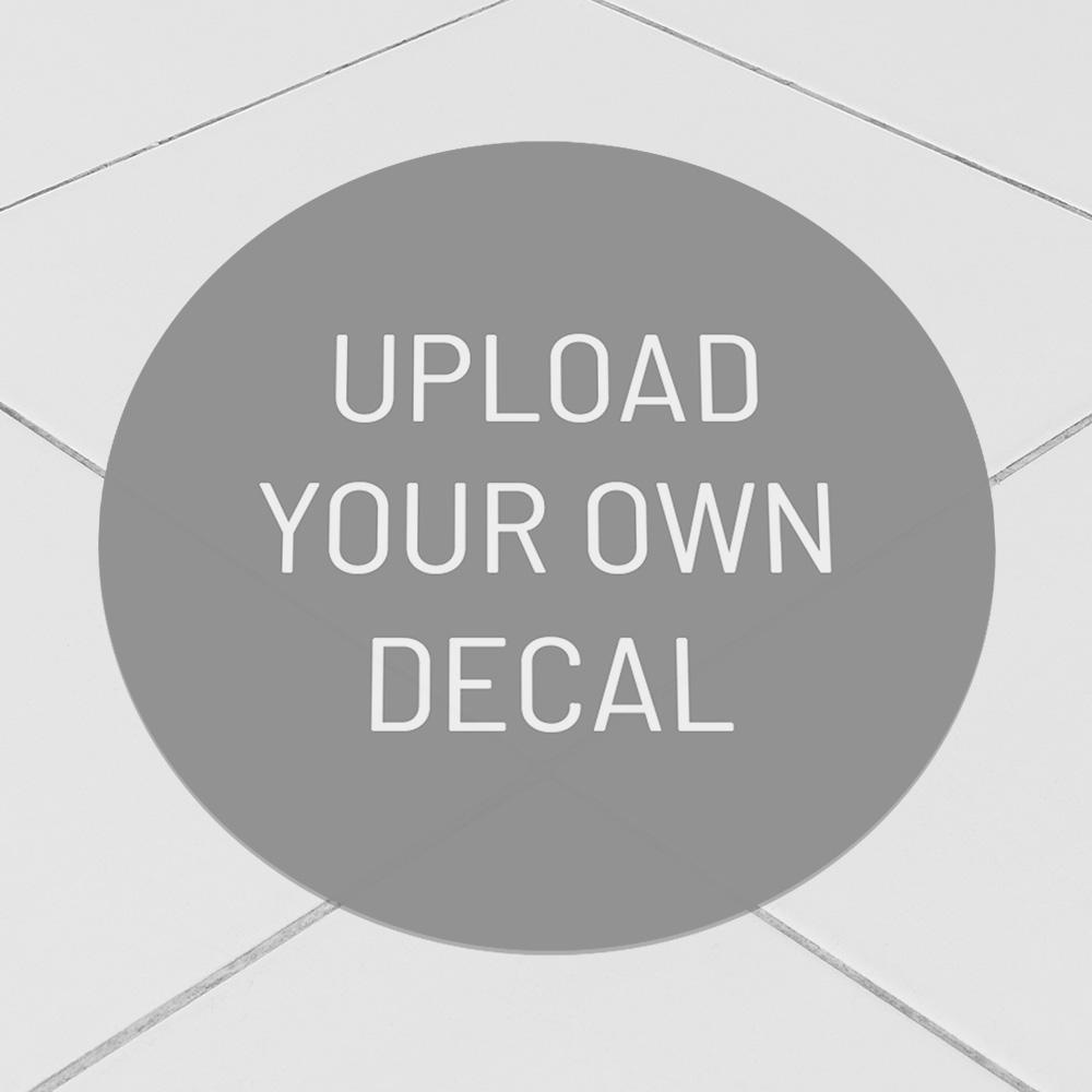 "Corefact Upload: Floor Decal - 10"" Round"