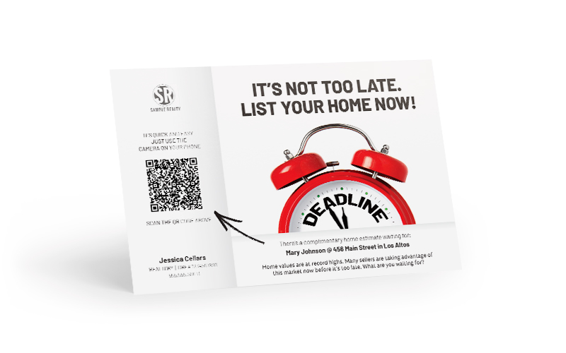 Corefact Home Estimate - QR Code Why Wait