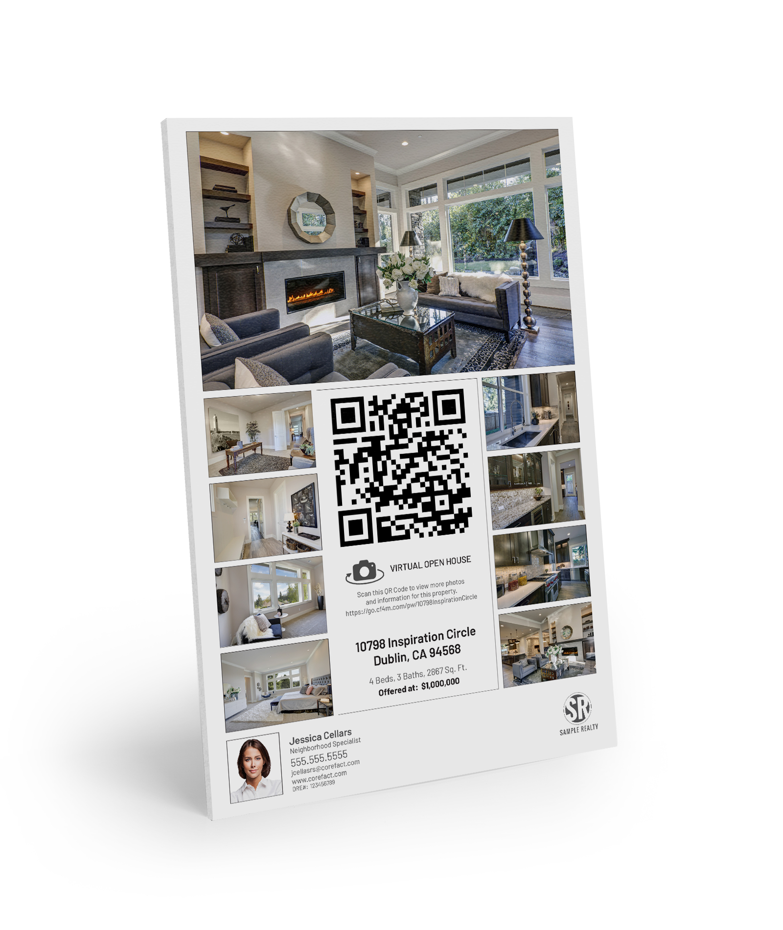 Corefact Property Flyer Sign - Virtual Experience