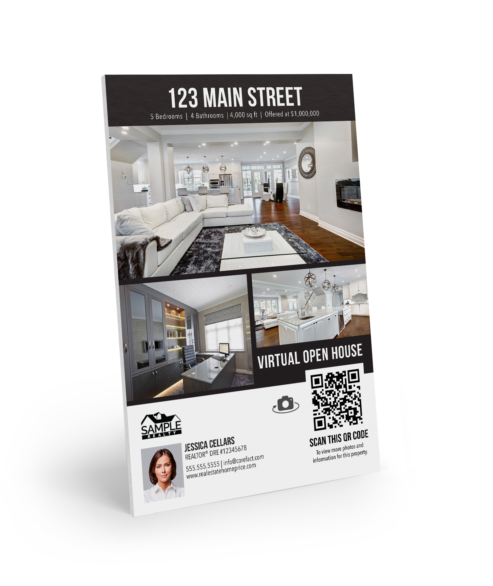 Corefact Property Flyer Sign - Modern Bold Collection