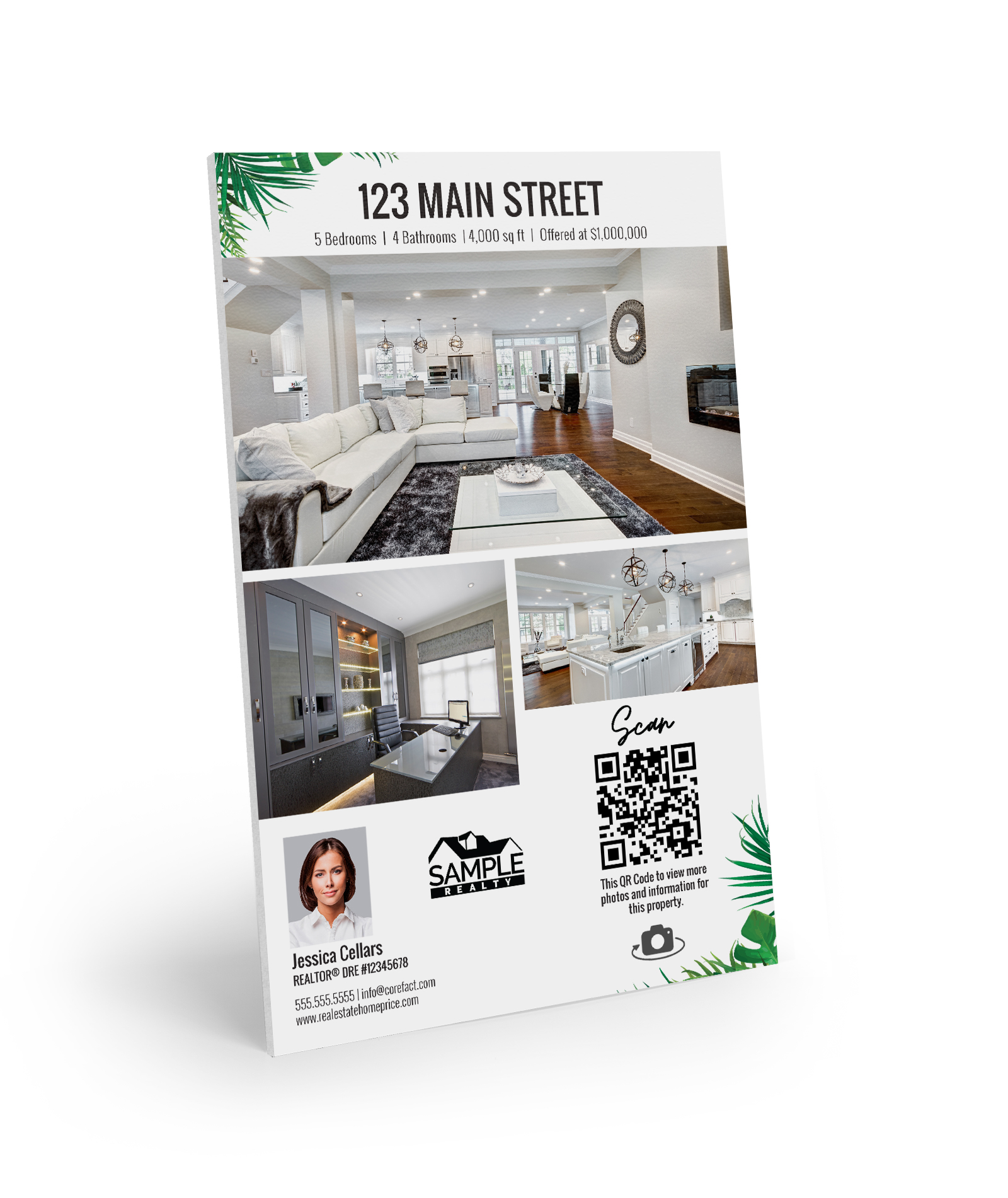 Corefact Property Flyer Sign - Oasis Collection