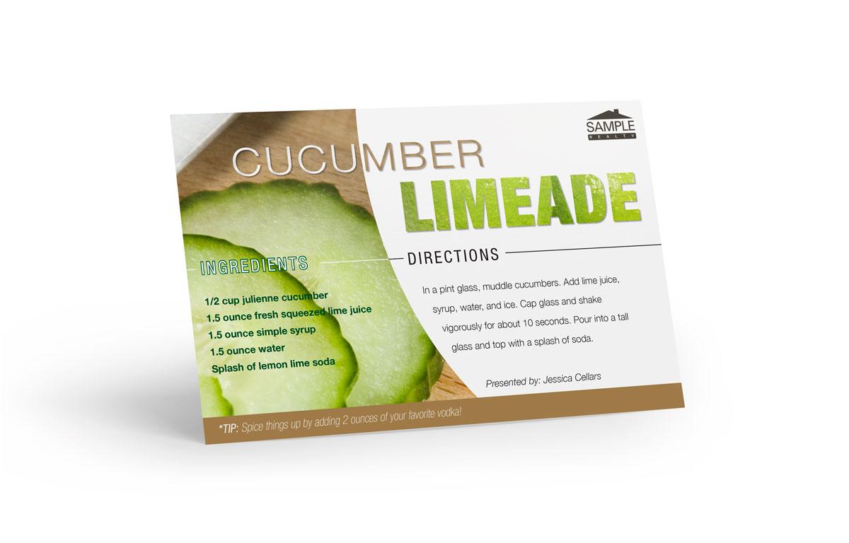 Corefact Recipe - Cucumber Limeade
