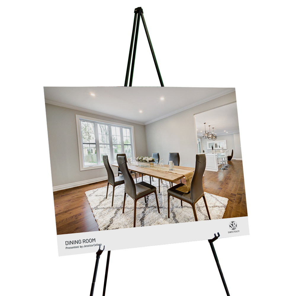Corefact Staging Sign - Dining Room (Landscape)
