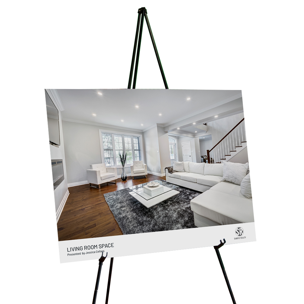 Corefact Staging Sign - Living Room (Landscape)