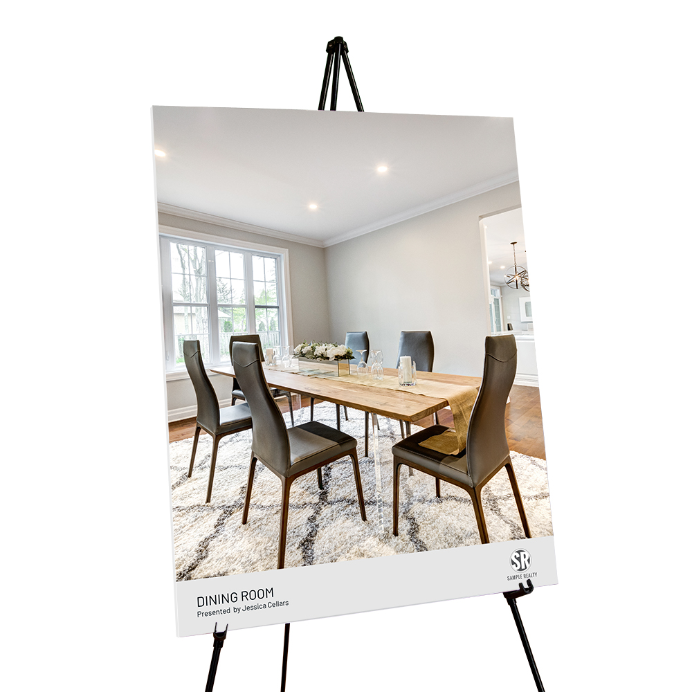 Corefact Staging Sign - Dining Room (Portrait)