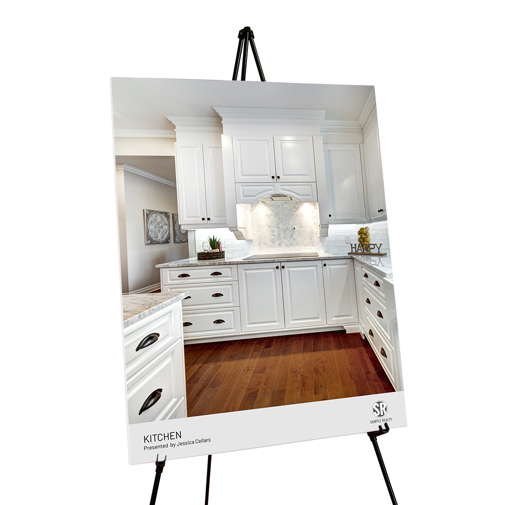Corefact Staging Sign - Kitchen (Portrait)