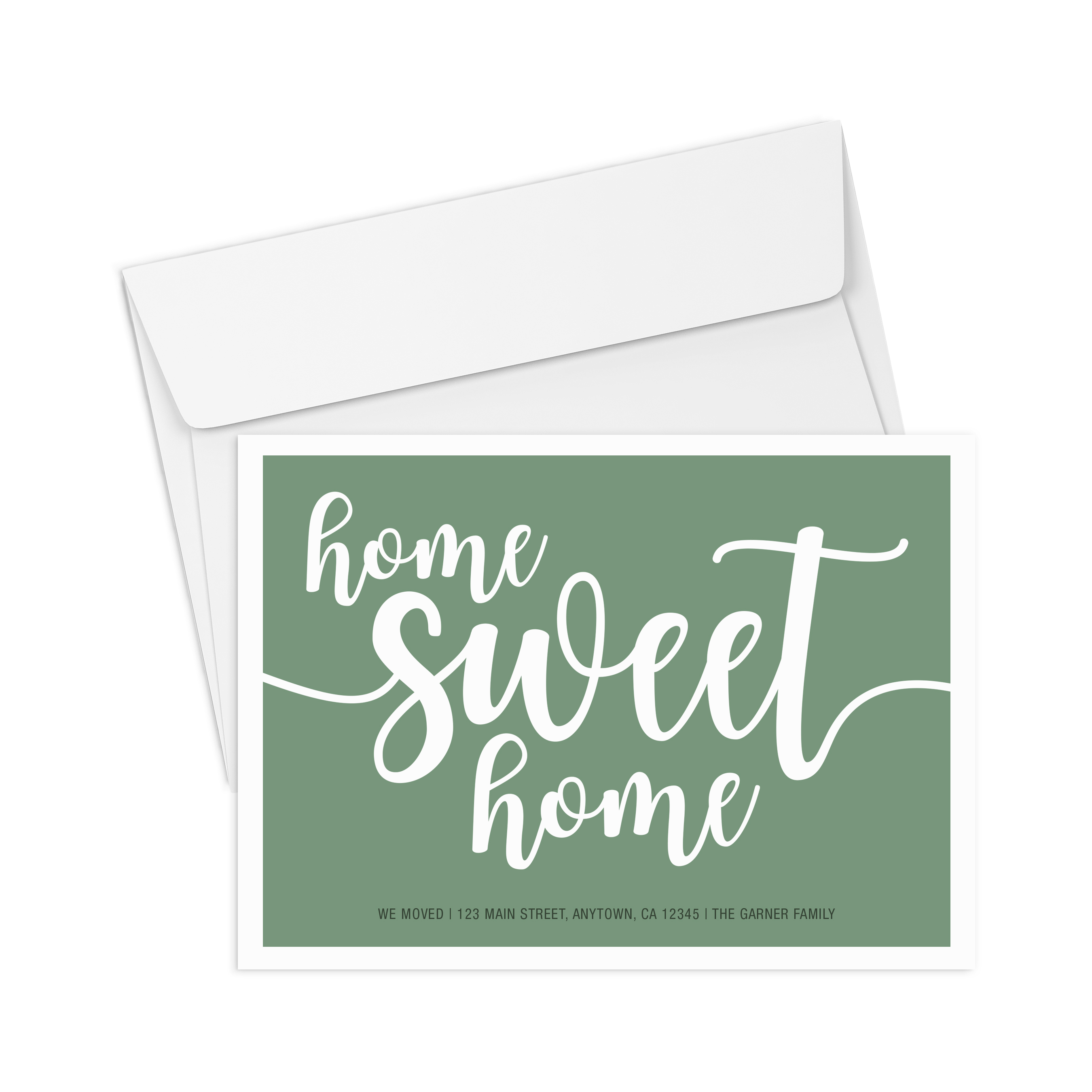 Corefact We Moved - Home Sweet Home - Green