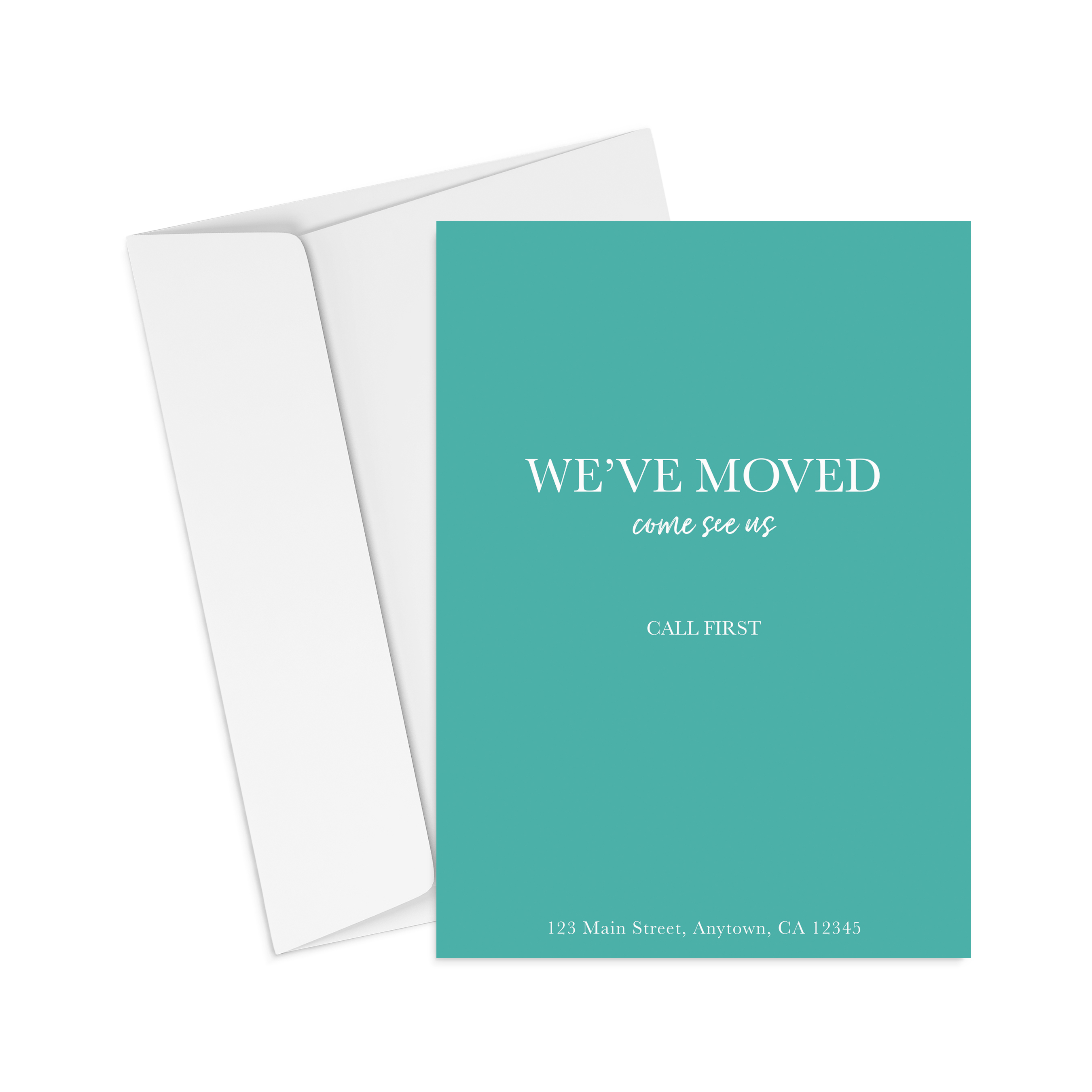 Corefact We Moved - Call First - Teal