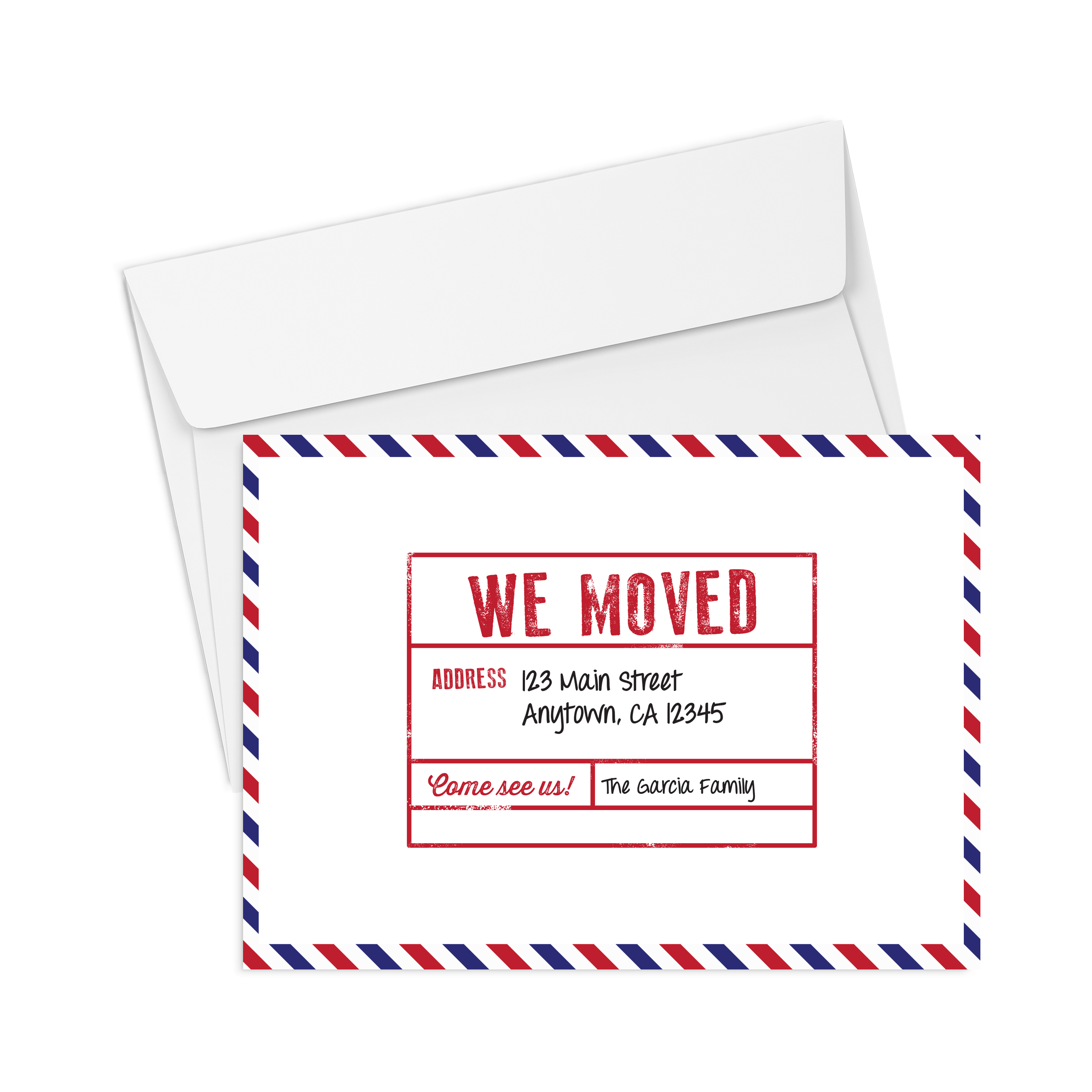 Corefact We Moved - Postmarked