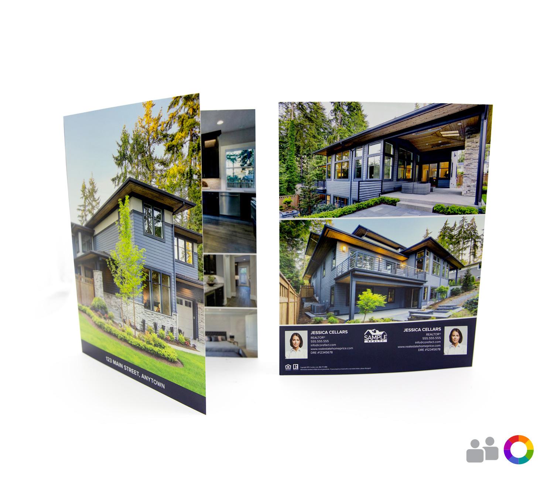 Corefact Modern Bold Brochure - Book Fold (Team)