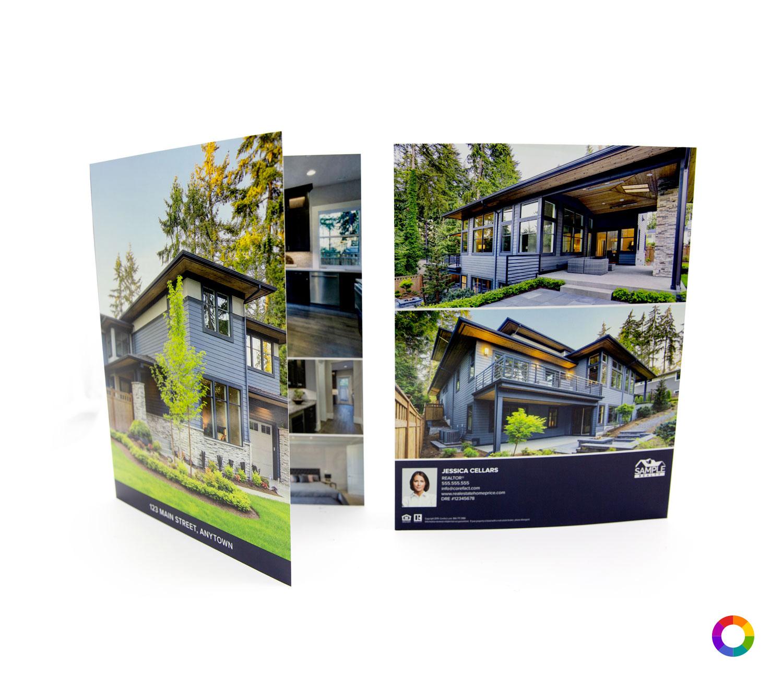 Corefact Modern Bold Brochure - Book Fold