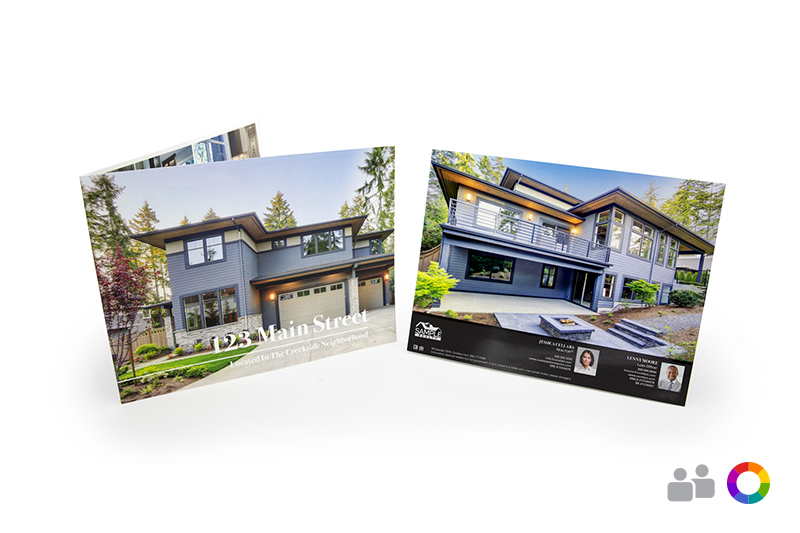 Corefact Luxury Brochure - Panoramic Fold (Team)