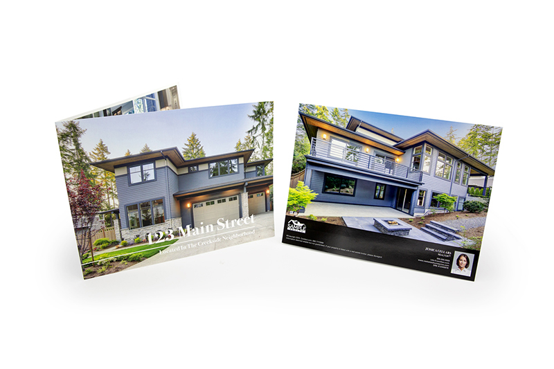 Corefact Luxury Brochure - Panoramic Fold