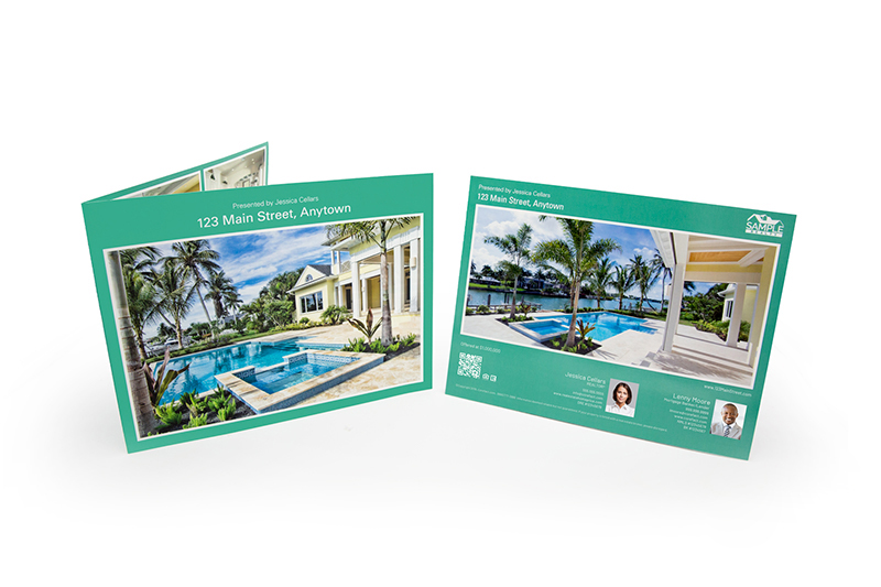 Corefact Elegant Brochure - Panoramic Fold (Team)