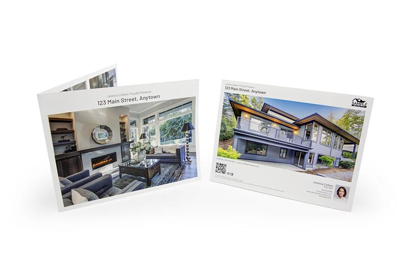 Corefact Modern Brochure - Panoramic Fold