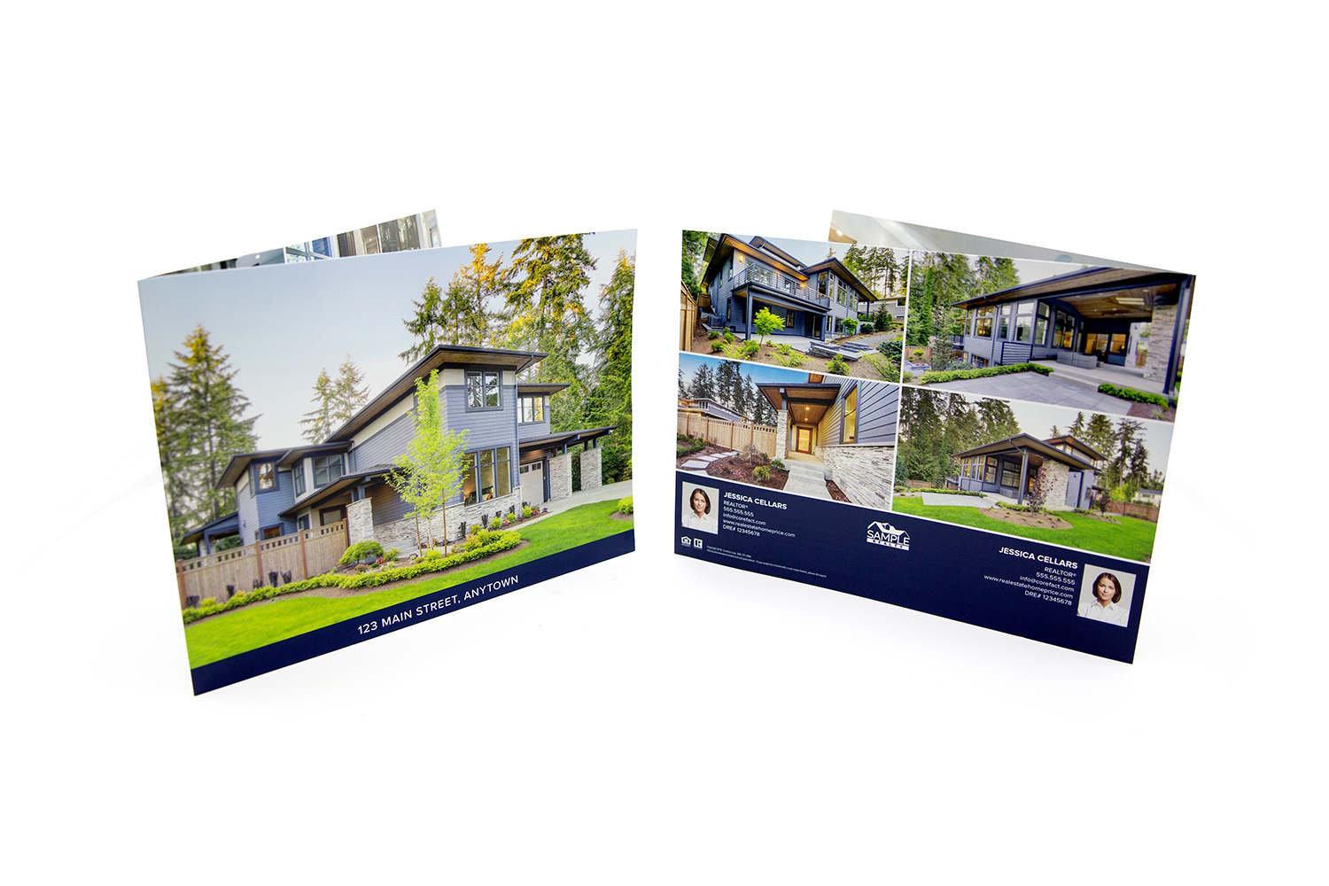 Corefact Modern Bold Brochure - Panoramic Fold (Team)