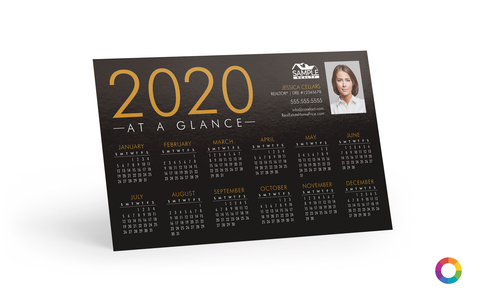 Corefact Magnets - Calendar 2020 - 01 (Print Only)