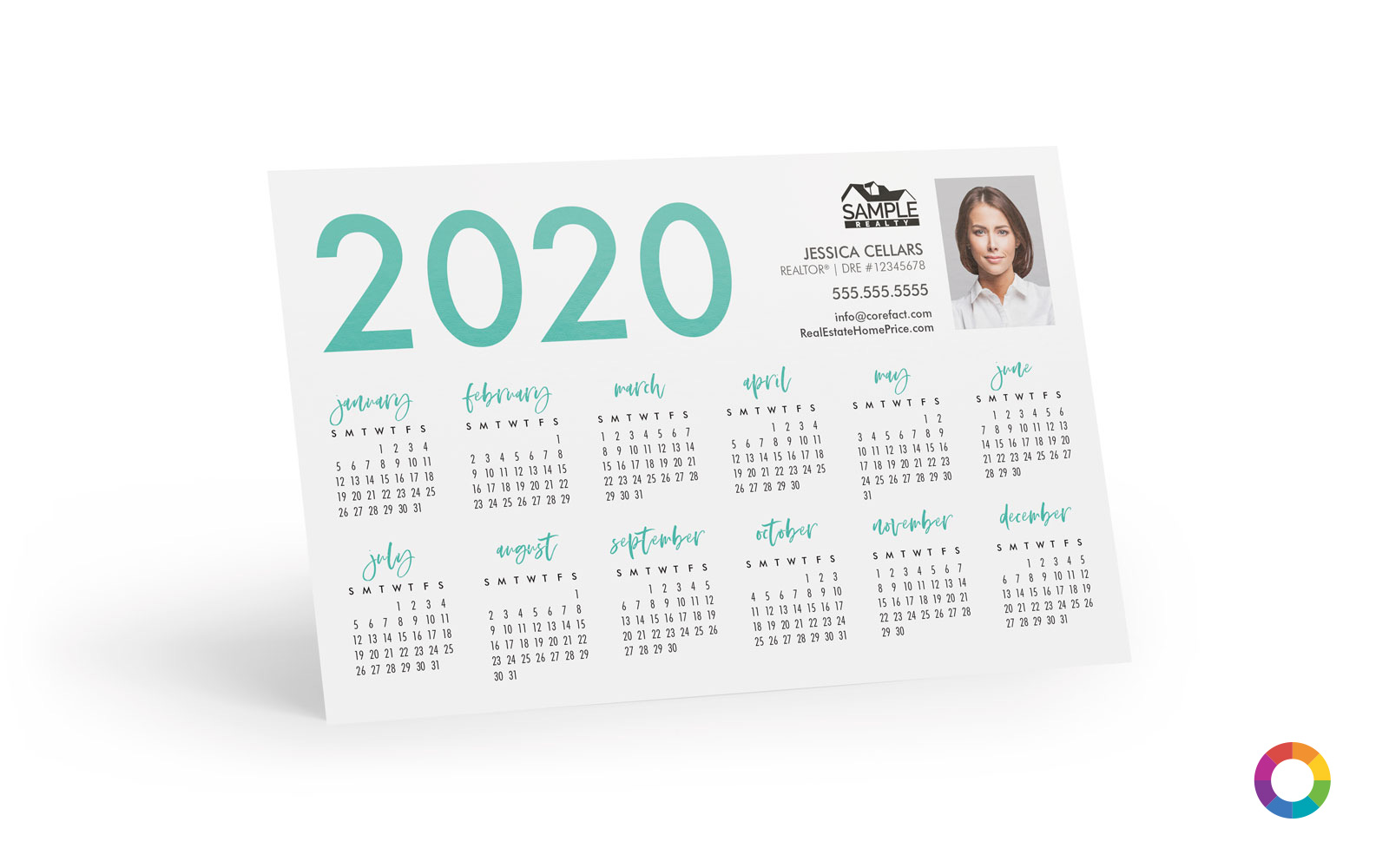 Corefact Magnets - Calendar 2020 - 02 (Print Only)