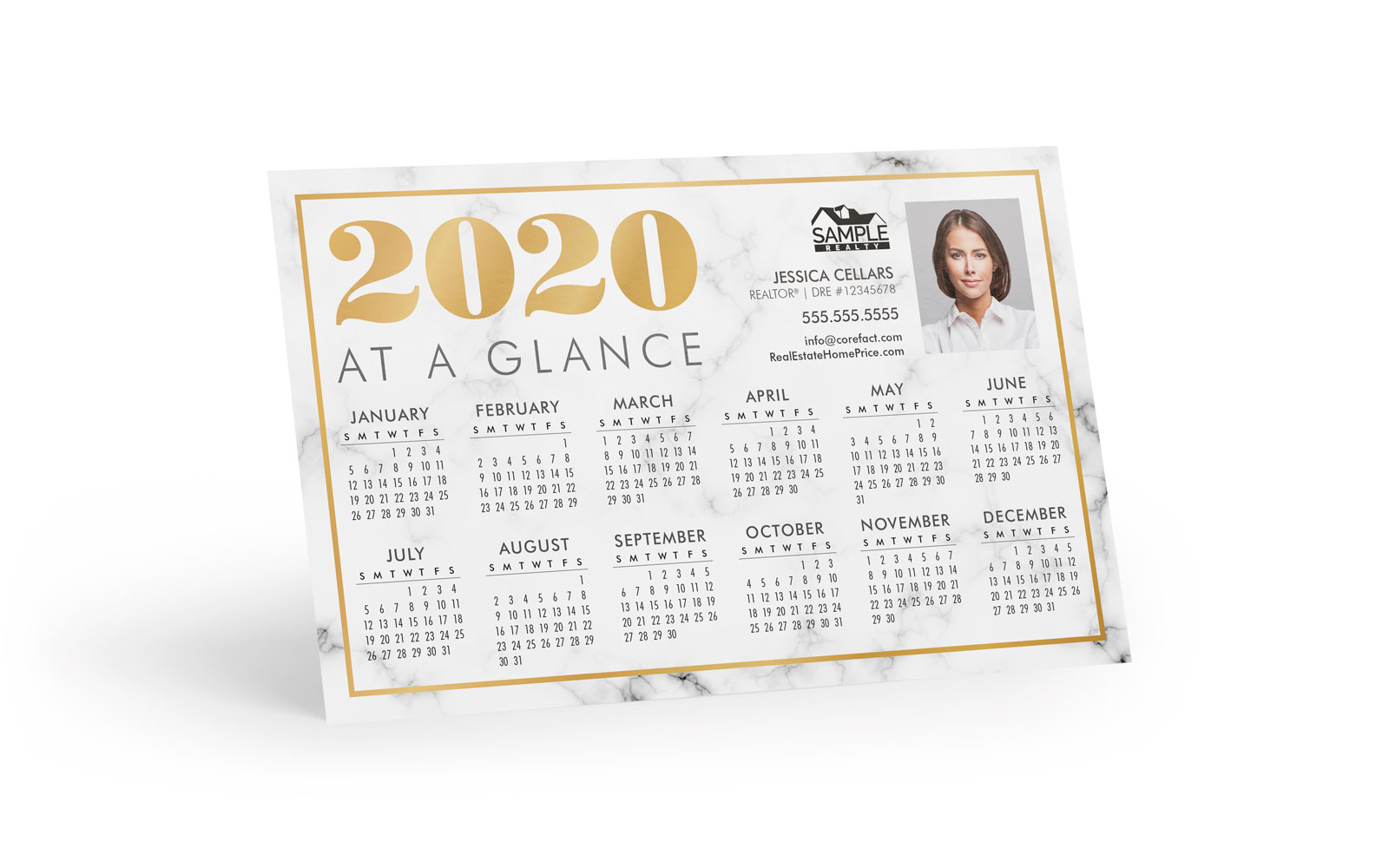 Corefact Magnets - Calendar 2020 - 03 (Print Only)