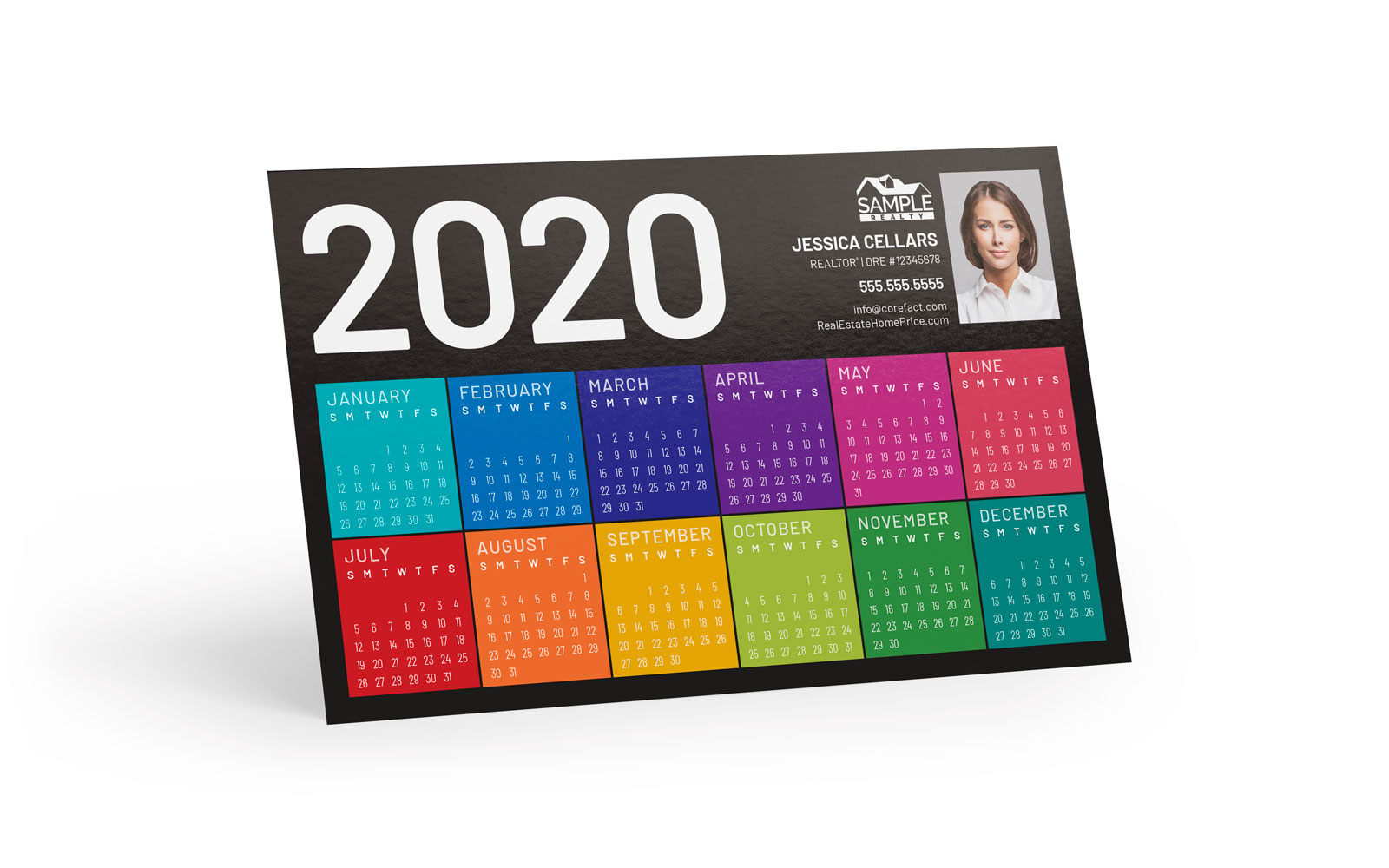 Corefact Magnets - Calendar 2020 - 04 (Print Only)