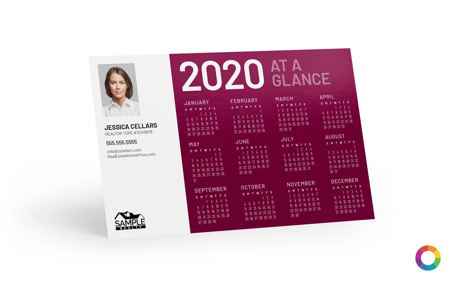 Corefact Magnets - Calendar 2020 - 05 (Print Only)