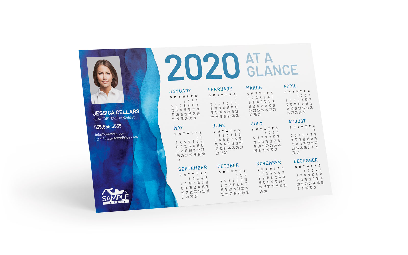 Corefact Magnets - Calendar 2020-06 (Print Only)