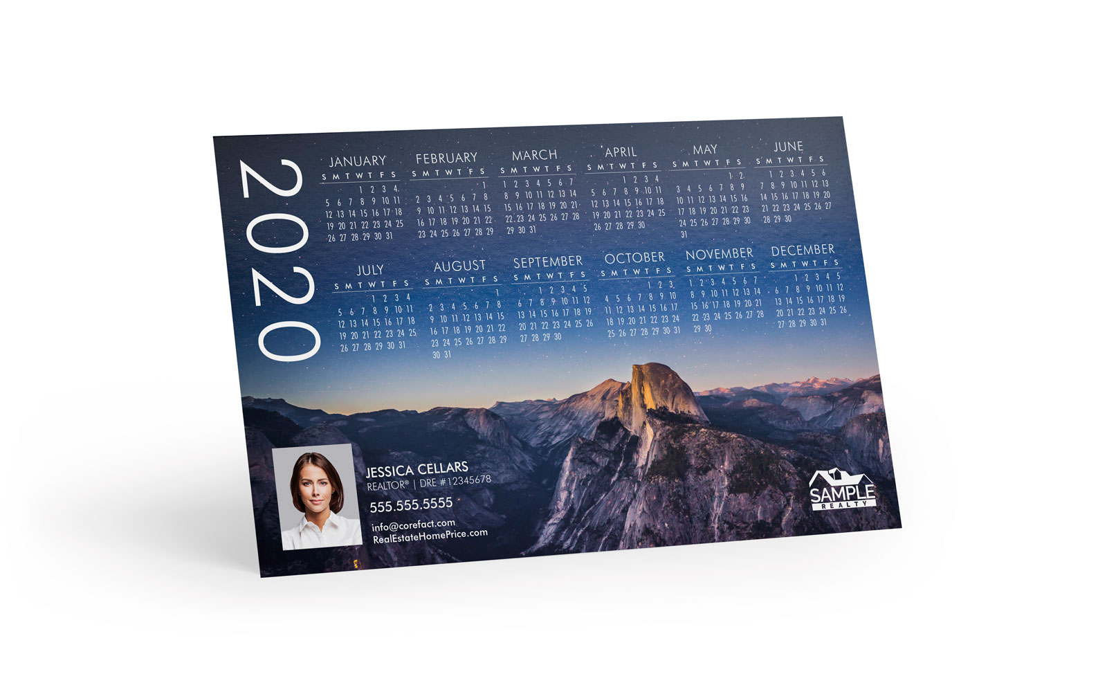 Corefact Magnets - Calendar 2020 - 07 (Print Only)