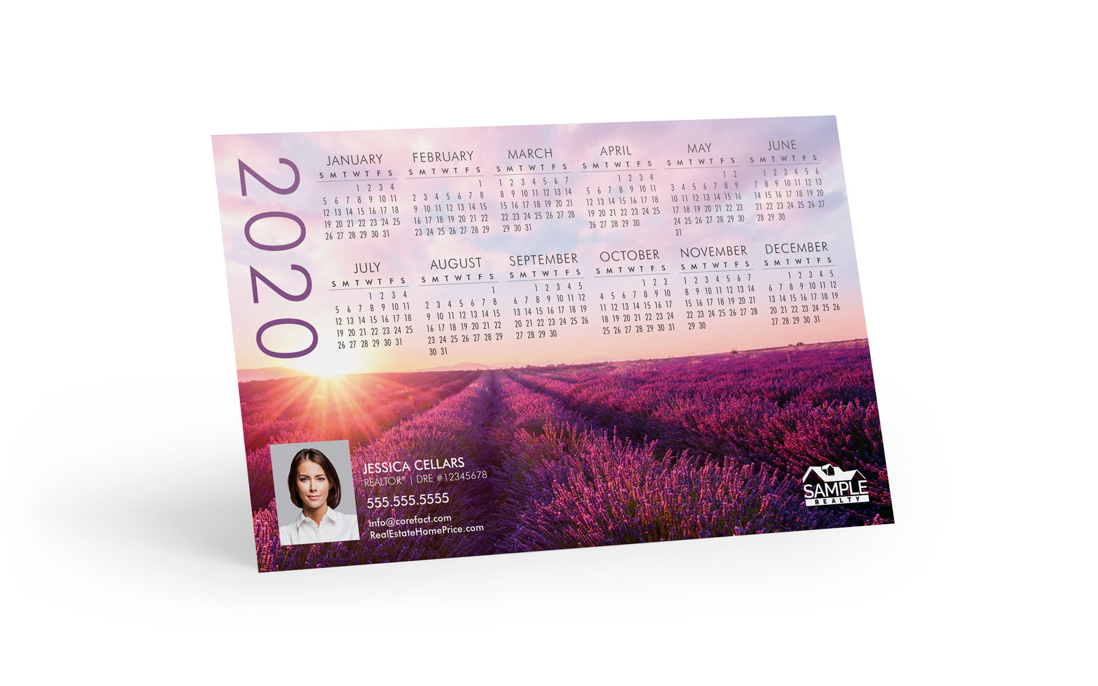 Corefact Magnets - Calendar 2020 - 08 (Print Only)