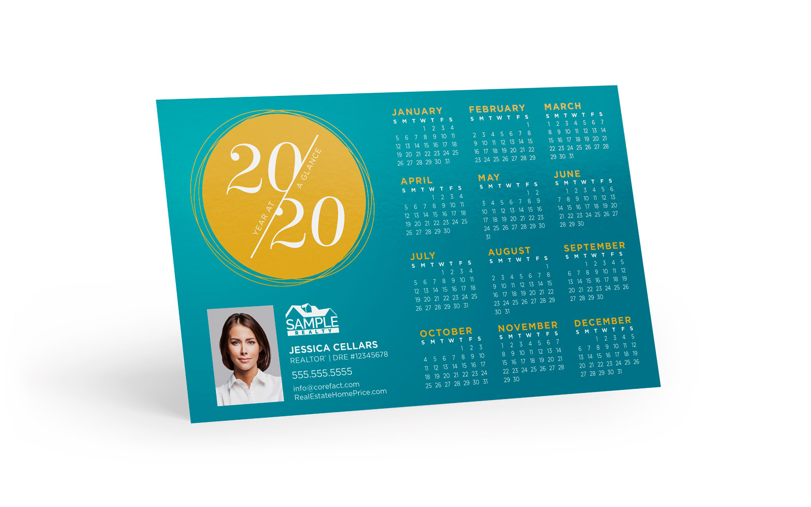 Corefact Magnets - Calendar 2020 - 10 (Print Only)