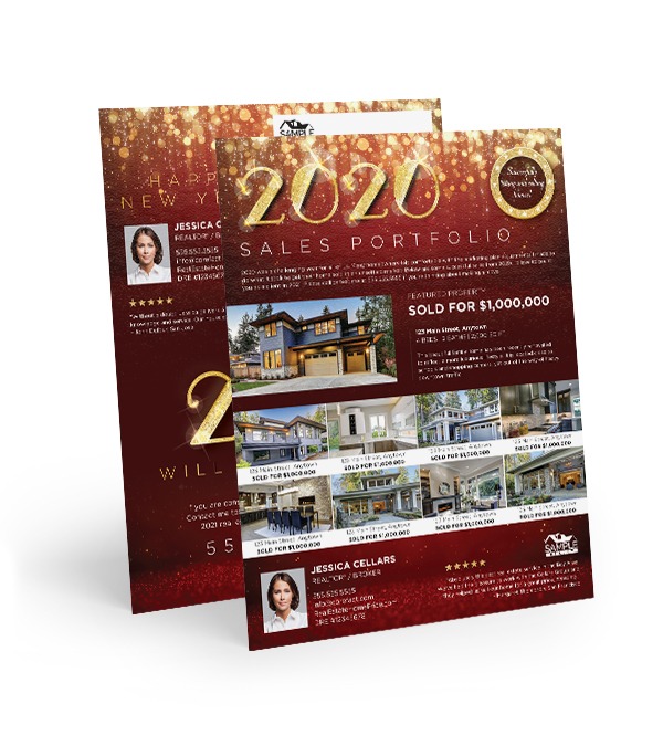 Corefact  Sales Portfolio 2020 - Red and Gold