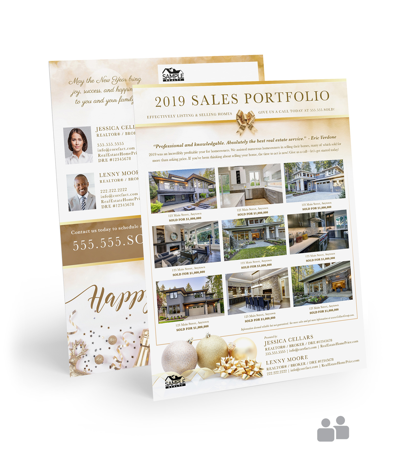 Corefact Sales Portfolio 2019 - Gold Team