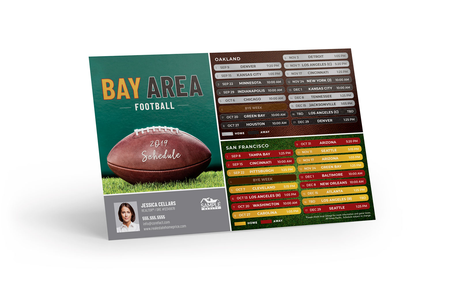 Corefact Sports - Football Bay Area Combo