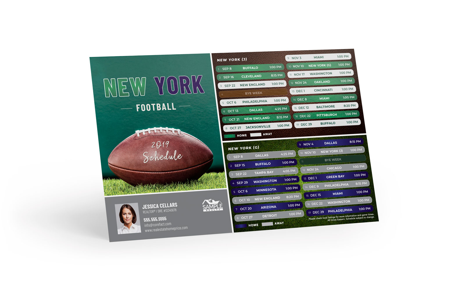 Corefact Sports - Football NY Combo