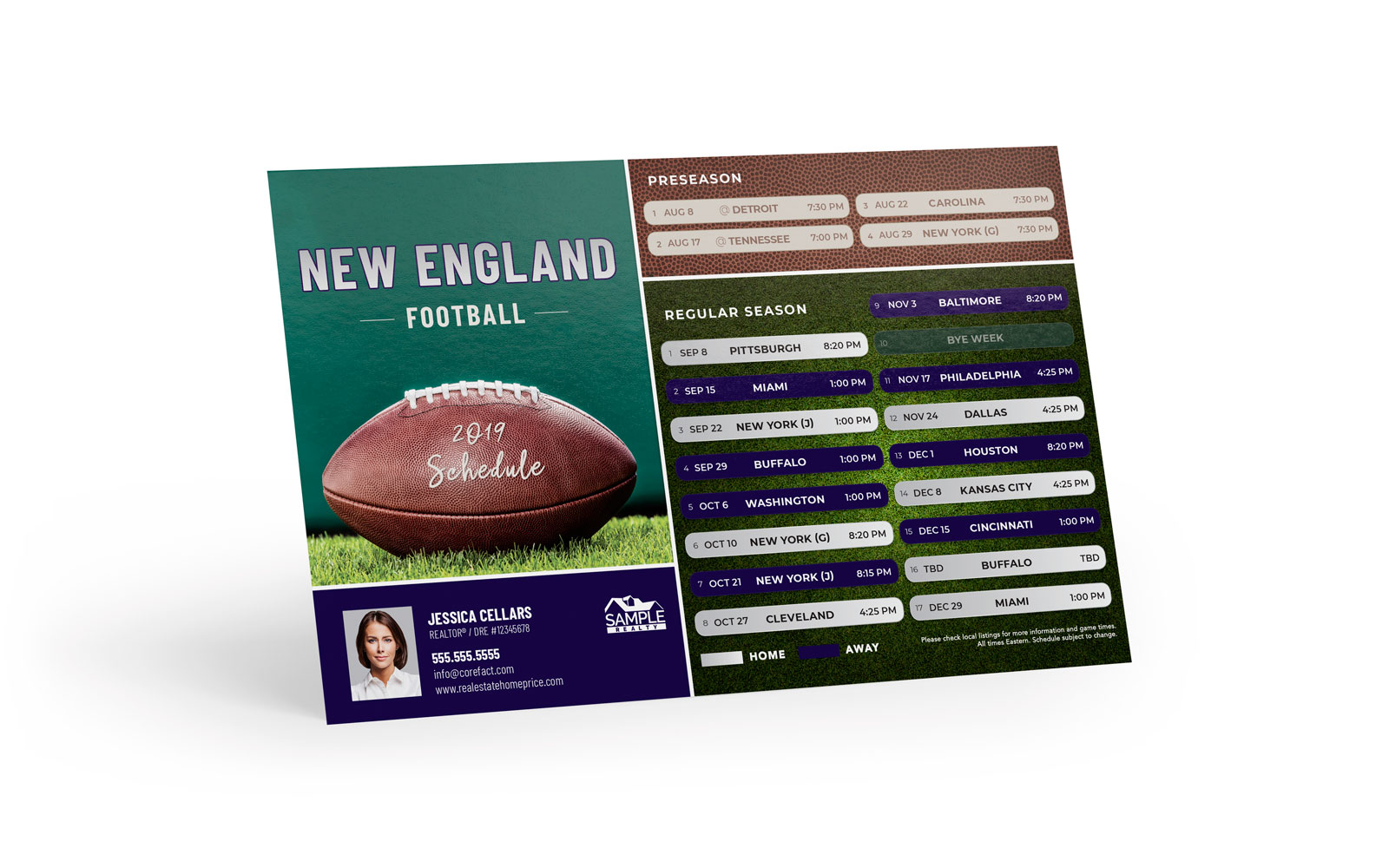 Corefact Sports - Football New England