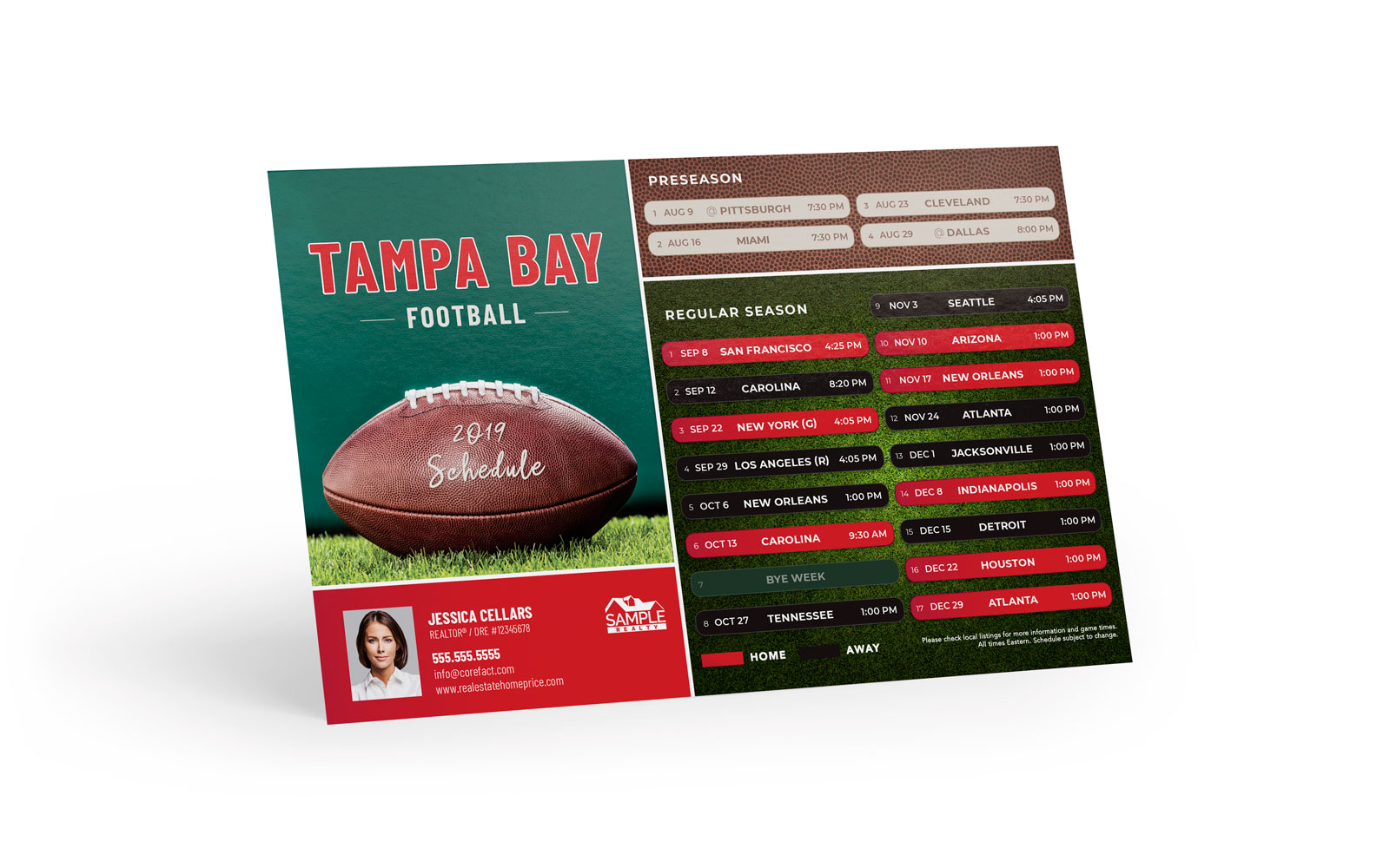 Corefact Magnets - FB Tampa Bay (Print Only)