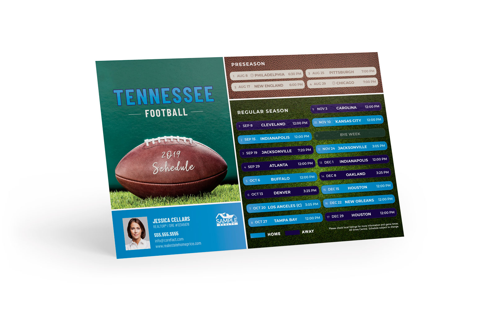 Corefact Sports - Football Tennessee