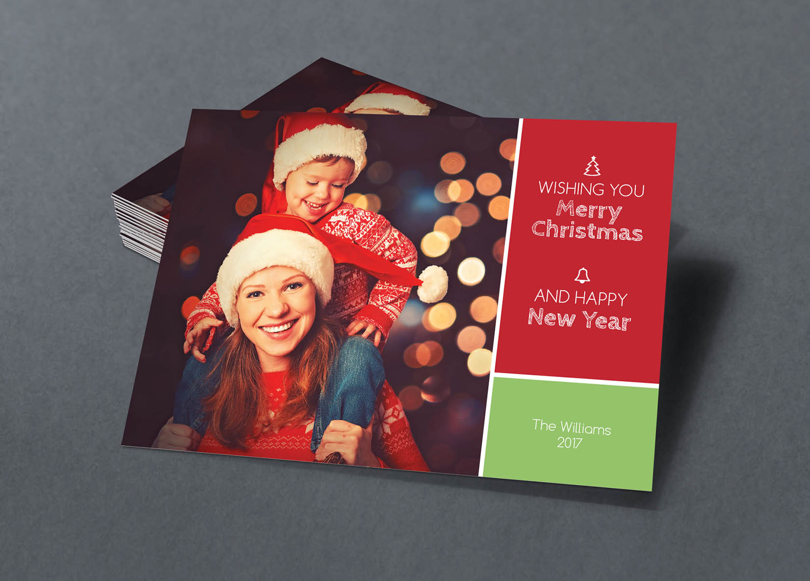 Corefact Family Holiday Card - 01