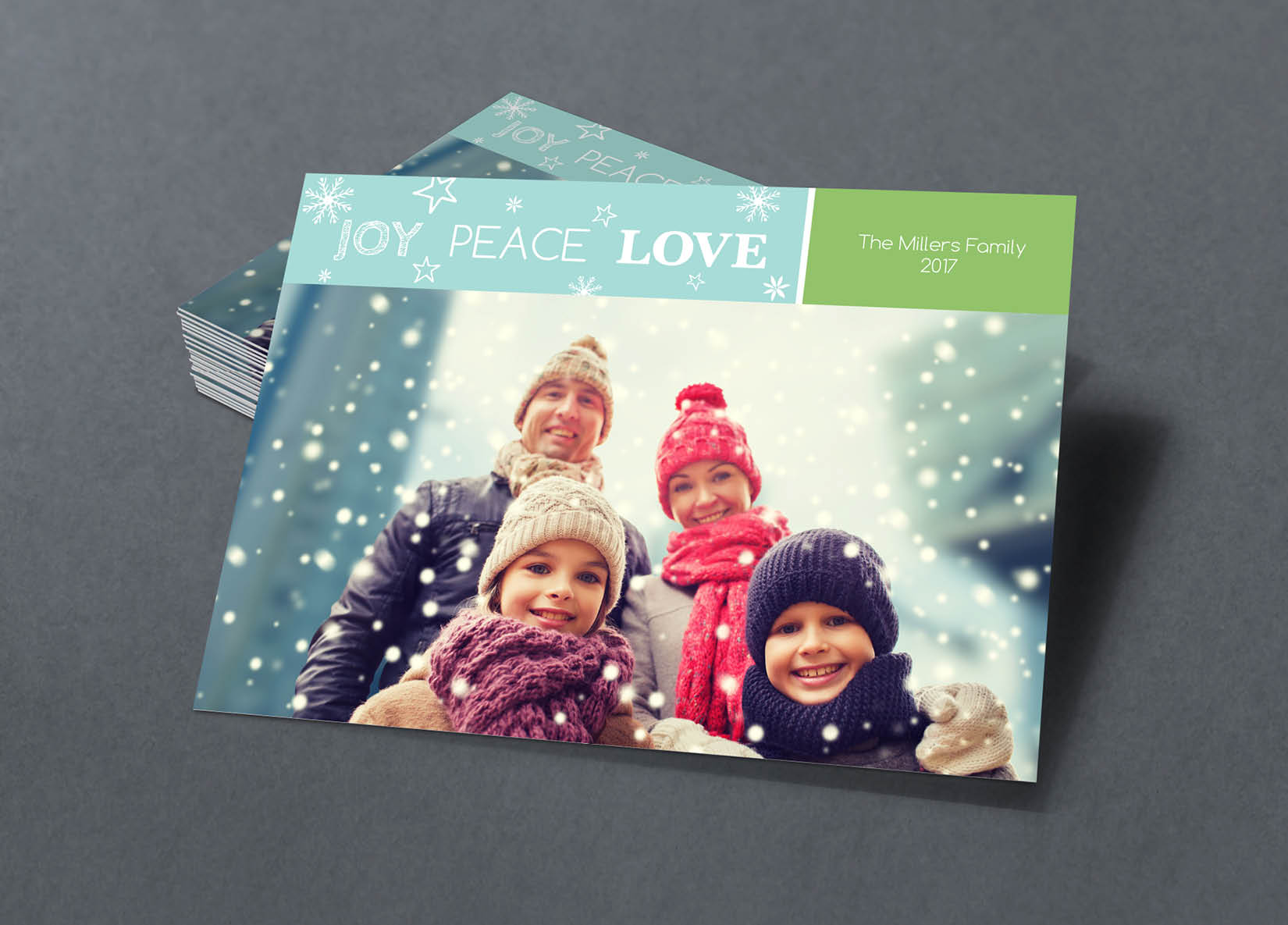Corefact Family Holiday Card - 02